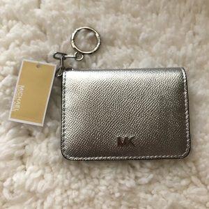 New MK Credit card holder key ring